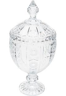 Bomboniere Belle- Cristal- 32Xã˜15,5Cm- Rojemacrojemac