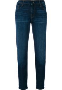 J Brand Calça Jeans Reta - Azul 59d184f33c94a