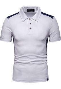 Camisa Polo Vintage School - Branco Pp