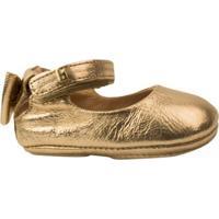 562ca027bf Sapatilha Bebê Bibi Metalizada Afeto New Vii - Feminino-Dourado
