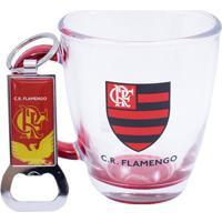 c2042bf9d6 Caneca De Vidro Flamengo Escudo
