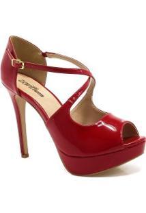 0bc63eaf8 Sapato Zariff Shoes Peep Toe Numeração Grande