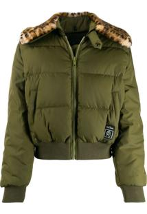 Marc Jacobs Jaqueta Bomber Cropped - Verde
