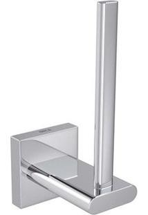 Porta Papel Higiênico Vertical Polo Cromado Deca