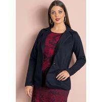 2325a730d4 Blazer Feminino Plus Size Preto