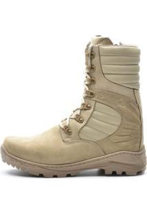 9c937d0695 Bota Coturno Militar Acero Hummer Areia