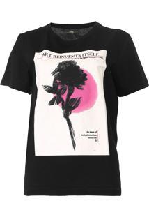 Camiseta Forum Estampada Preta - Kanui