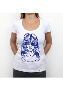 Pinup Fuckyou - Camiseta Clássica Premium Feminina