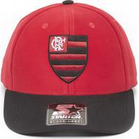 240af329cac08 Boné Starter X Flamengo Vermelho Com Aba Curva Preta