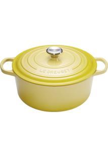 Panela Redonda Signature 20 Cm Amarelo Soleil Le Creuset