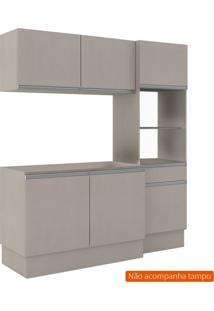 Cozinha Compacta Dion 6 Pt 1 Gv Bege