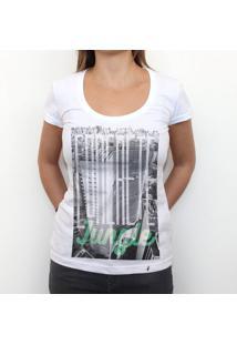 Concrete Jungle - Camiseta Clássica Feminina