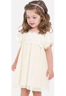 Vestido Infantil Milon Chiffon 11713.0452.8