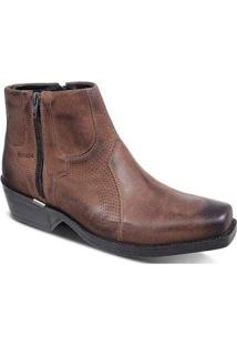 Bota New Country Ferracini Masculina - Masculino-Café