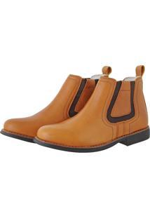 12e6a87ff Sandália Pessoni Boots & Shoes Casual Conforto Em Couro Preto Marrom