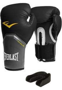 Luva Pro Style Elite Everlast 12 Oz + Protetor Bucal - Unissex