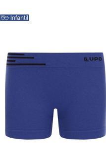 Cueca Boxer Lupinho 0132-002 Infantil 2920-Azul-Na
