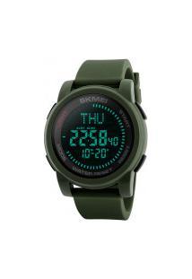 Relógio Skmei Digital -1289- Verde Army
