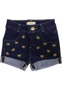 Bermuda Sport Brazil Lacinho Jeans