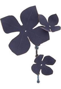 Marni Broche Floral - Azul