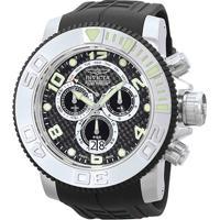 24fc503e29c Relógio Invicta Analógico 0412 Masculino - Masculino-Prata