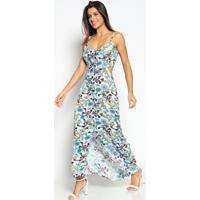 876dcd0fe Vestido Floral Longo feminino | Shoes4you
