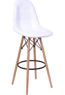Banqueta Eames Botonê- Branca- 106X56X56Cm- Or Dor Design