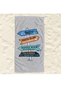 Toalha De Praia Placas Pump Up