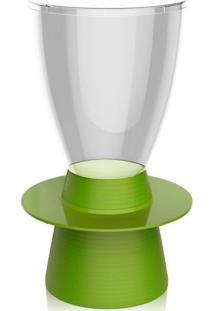 Banco | Banqueta Tin Policarbonato Cristal E Verde I'M In