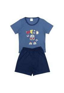 Pijama Masculino Infantil Hero