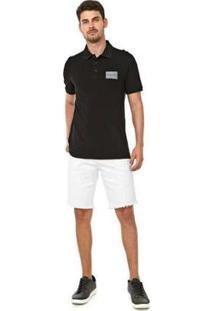 Bermuda Walk Ck Five Pockets Masculina - Masculino-Branco