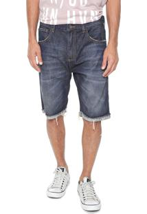 Bermuda Jeans John John Reta Olimpia Azul
