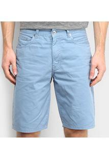 Bermuda Jeans Lacoste Masculina - Masculino-Azul
