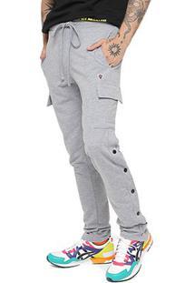Calça Moletom Seven Brand Sweat Button Masculina - Masculino