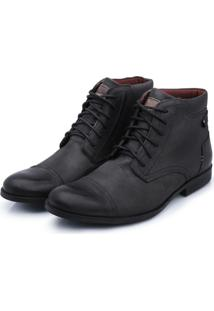 Bota Bergally Casual Detroid Cinza