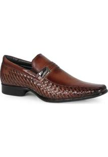 Sapato Social Masculino Rafarillo Recorte Lateral