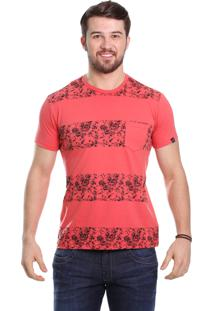 Camiseta Javali Coral Listra Caveira