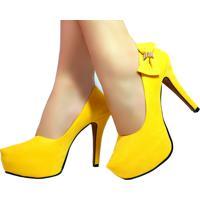 970166ba7 Scarpin Amarelo Bella feminino | Shoes4you