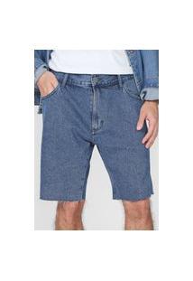 Bermuda Jeans John John Reta Clássica Sydney Azul