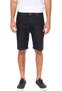 Bermuda Jeans Quiksilver Slim Artor Azul-Marinho - Kanui