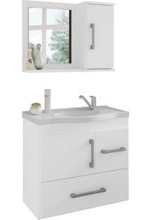 Conjunto De Banheiro Fortaleza Branco