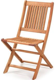 Cadeira Dobravel Primavera Sem Bracos Stain Jatoba - 34820 - Sun House