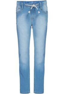 Calça Jeans Five Pockets Skinny - Azul Claro Calça Jeans Five Pockets Skinny - 8