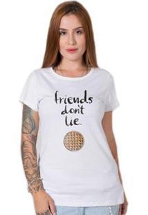 Camiseta Stoned Strangers Thinks Feminina - Feminino