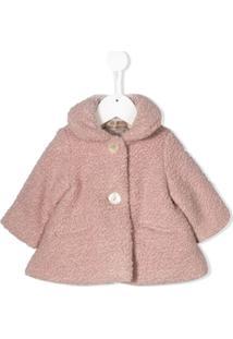 La Stupenderia Shearling Fur Coat - Rosa