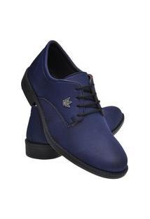 Sapato Social Masculino Leve Macio Dia A Dia Moderno Preto 37 Azul