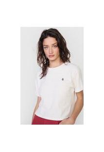 Camiseta Volcom Colores Off-White