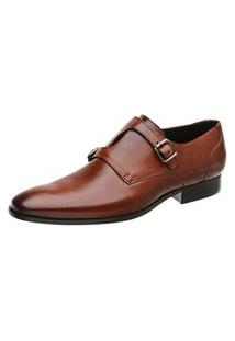 Sapato Social Couro Marrom 60052Crm