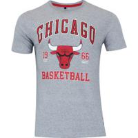 531f33ef0c Camiseta Nba Chicago Bulls College - Masculina - Cinza