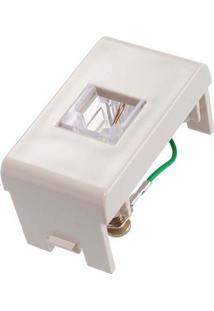 Módulo Para Telefone Rj11 2 Fios Marfim Decor Prime Schneider